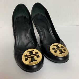Tory Burch Wedge Pumps. Size 6.5